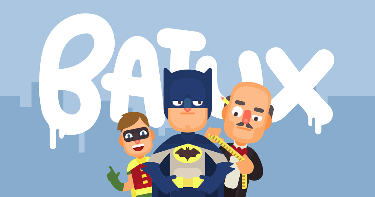 BATUX - Using a UX process to redesign Batman's classic outfit